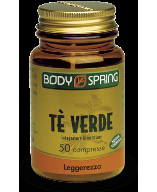 Body Spring Te' Verde 50 Compresse - FARMAEMPORIO