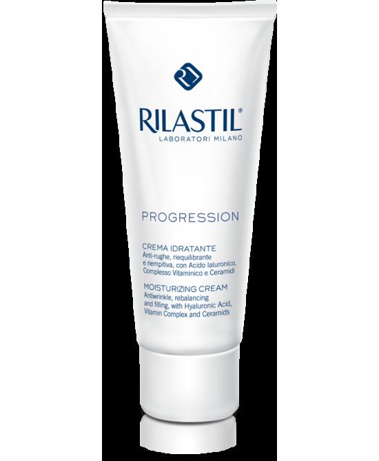 Rilastil Progression Crema Viso Idratante Anti-Rughe Riequilibrante 50 ml - La tua farmacia online