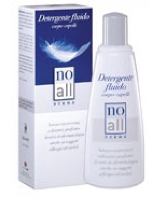NoAll Detergente Fluido Corpo E Capelli 200ml - Zfarmacia