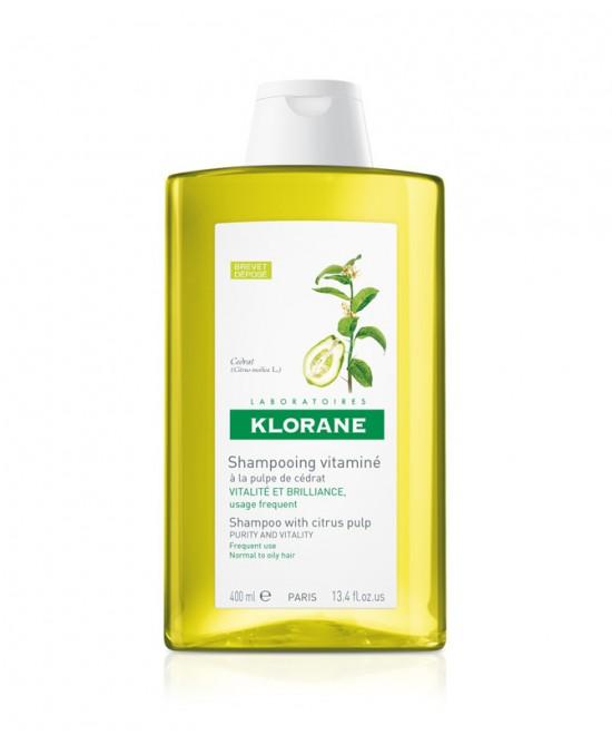 Klorane Shampoo Vitaminizzato Alla Polpa Di Cedro 400ml - Farmamille