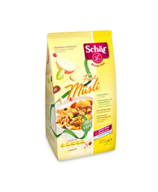 Schar Musli Fruit Senza Glutine 375g - Farmacia 33