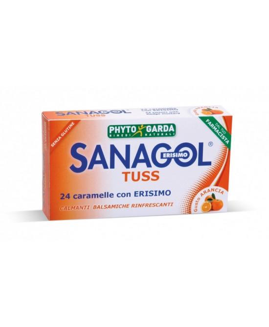 Phyto Garda Sanagol Tuss Gusto Arancia 24 Caramelle - Parafarmaciabenessere.it