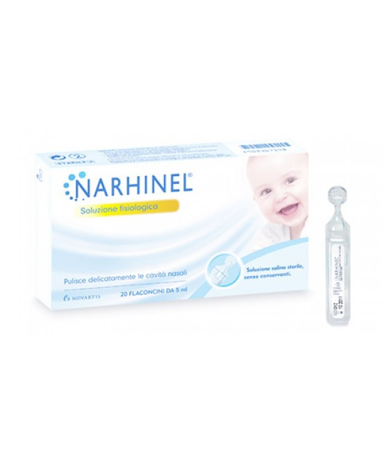 Narhinel Soluzione Fisiologica 20 Flacone 5ml - farma-store.it
