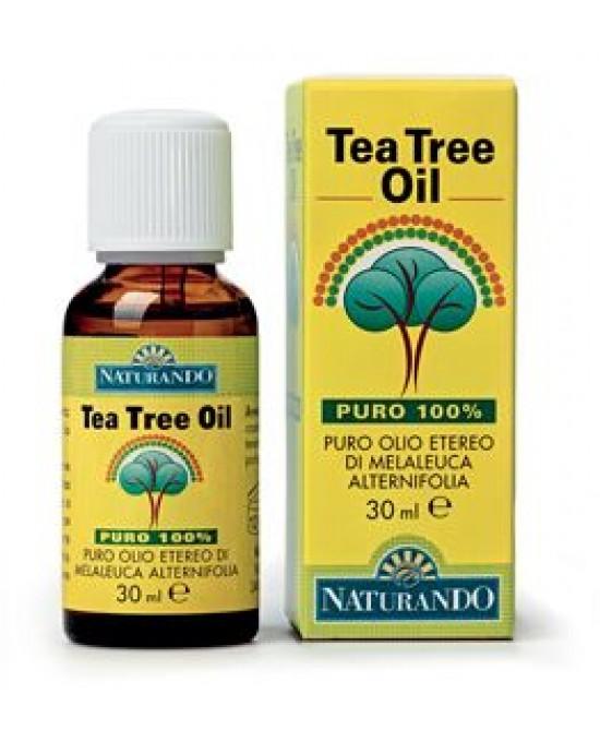 Naturando Tea Tree Oil Puro 100% 30ml - Farmacento