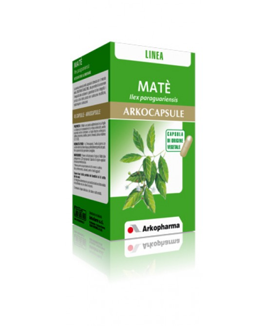 Arkopharma Matè Arkocapsule Integratore Alimentare 45 Capsule - La tua farmacia online