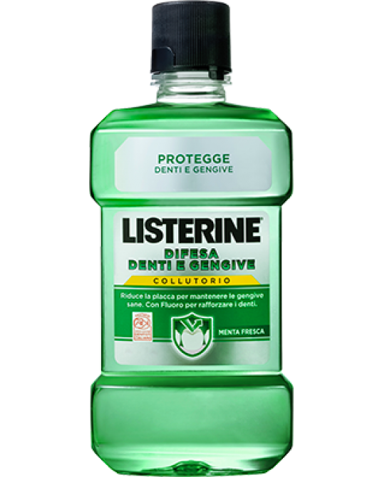 Listerine Difesa Denti e Gengive Collutorio 250ml - FARMAEMPORIO