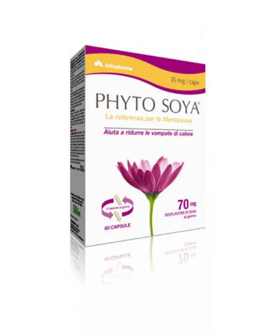 Arkopharma Phyto Soya 35mg Integratore Alimentare 60 Capsule - FARMAEMPORIO