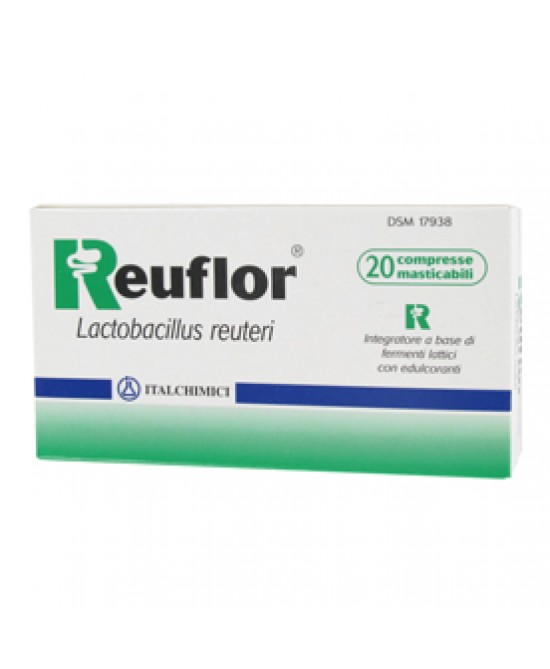 Reuflor Integrat 20cpr 9g - Farmapc.it