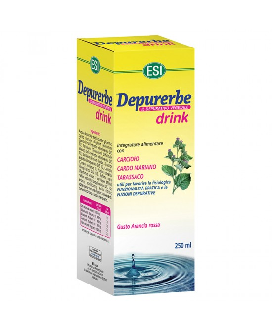 Esi Depurerbe Drink 250ml - Parafarmaciabenessere.it