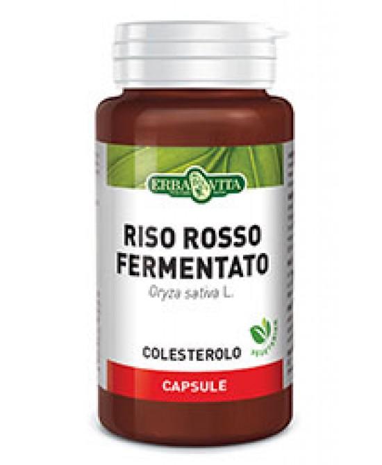 ErbaVita Capsule Monoplanta Riso Rosso Fermentato Integratore Alimentare 60 Capsule - FARMAEMPORIO