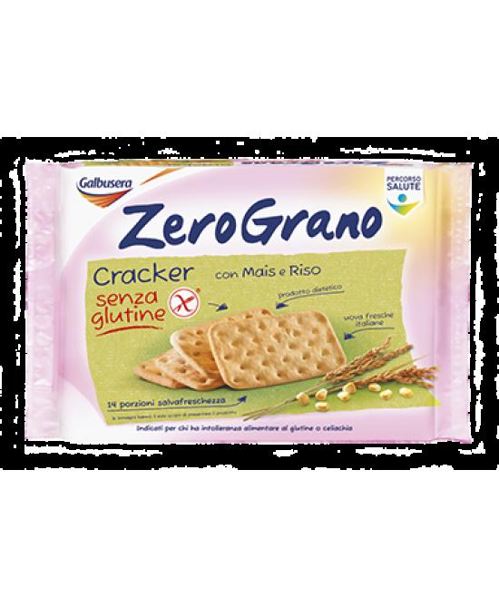 ZeroGrano Cracker Con Mais e Riso Senza Glutine 380g - Farmacento