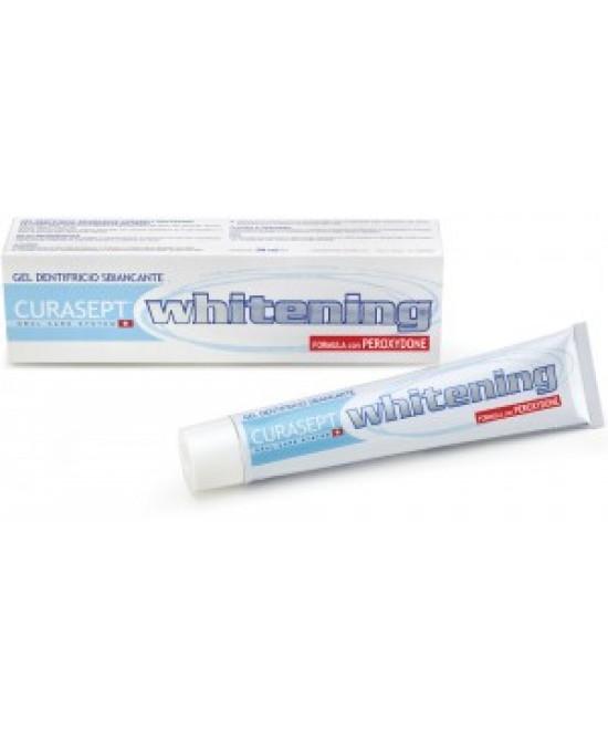 Curaden Curasept Sbiancanti Curasept Whitening Dentifricio 50ml - Antica Farmacia Del Lago
