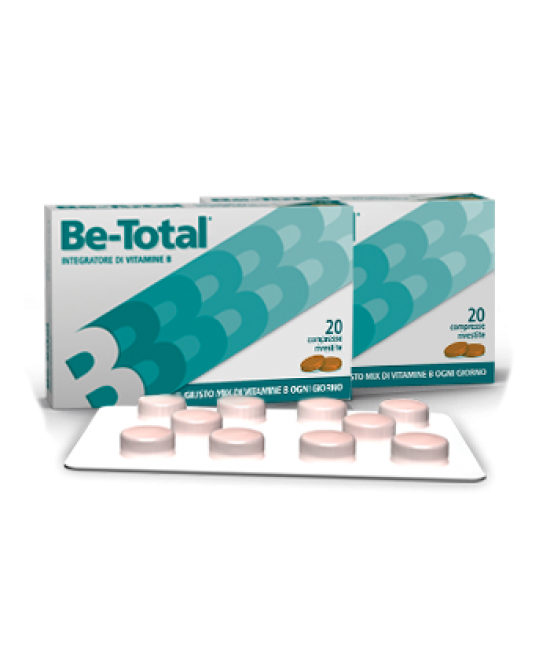 Be-Total Integratore Alimentare 20 Compresse - Farmalandia