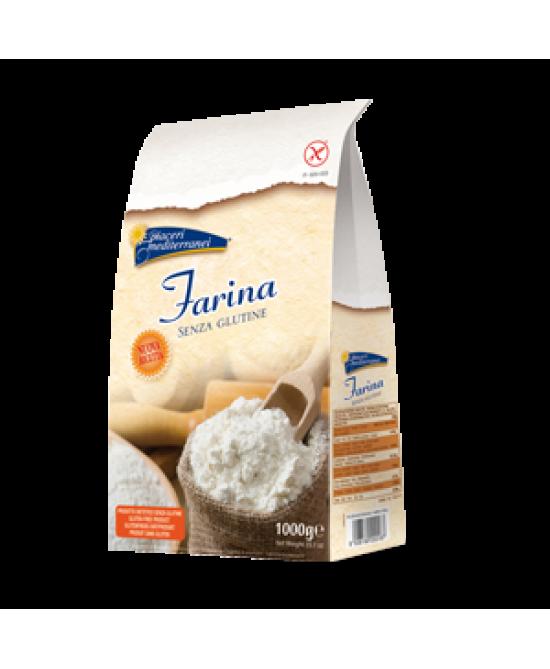 Piaceri Mediterranei Farina Senza Glutine 1000g - FARMAEMPORIO