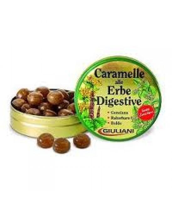Giuliani Caramelle Alle Erbe Digestive Senza Zucchero 60g - Zfarmacia