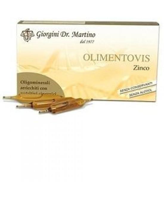 Dr. Giorgini Olimentovis Zinco Integratore Alimentare 60ml - FARMAEMPORIO