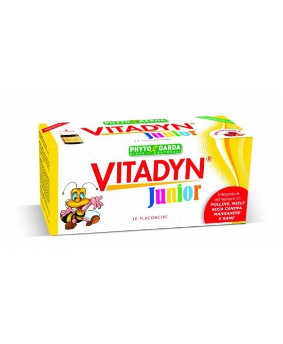 Phyto Garda Vitadyn Junior Integratore Alimentare 10 Flaconi Da 10ml - Farmacento