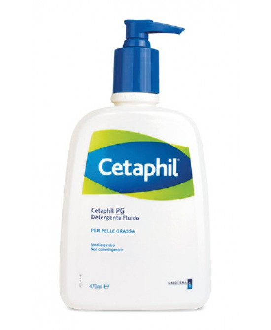 Cetaphil Pg Detergente Fluido 470ml - Farmawing