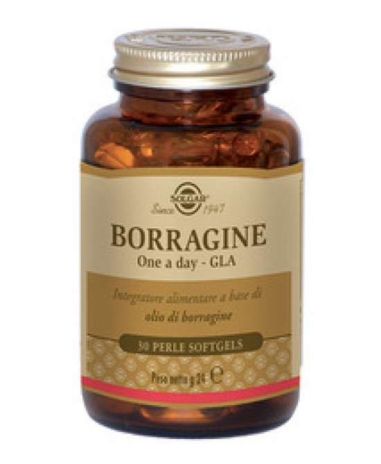 Solgar Borragine One A Day Gla 30 Perle - Farmacia 33