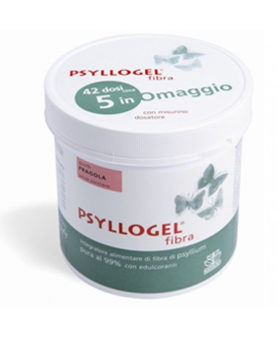 Psyllogel Fibra Fragola Vaso Integratore 170gr - Farmamille