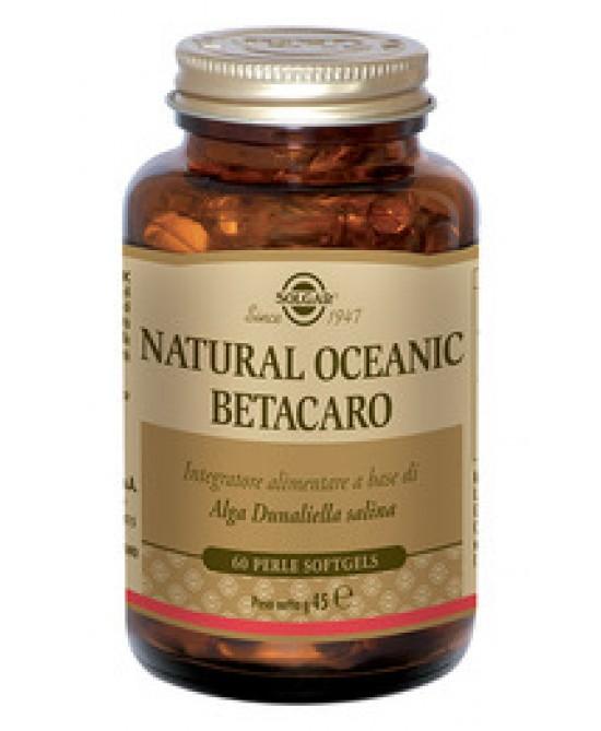 Solgar Natural Oceanic Betacaro 60 Perle - FARMAEMPORIO