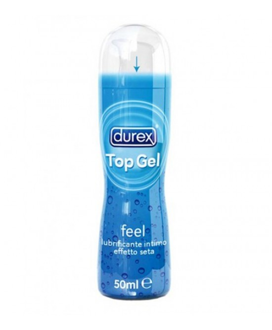 Durex Top Gel Feel Lubrificante Intimo Effetto Seta 50ml - Zfarmacia