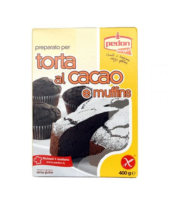 Easyglut Preparato Per Torta Al Cacao E Muffins Senza Glutine 400g - FARMAEMPORIO