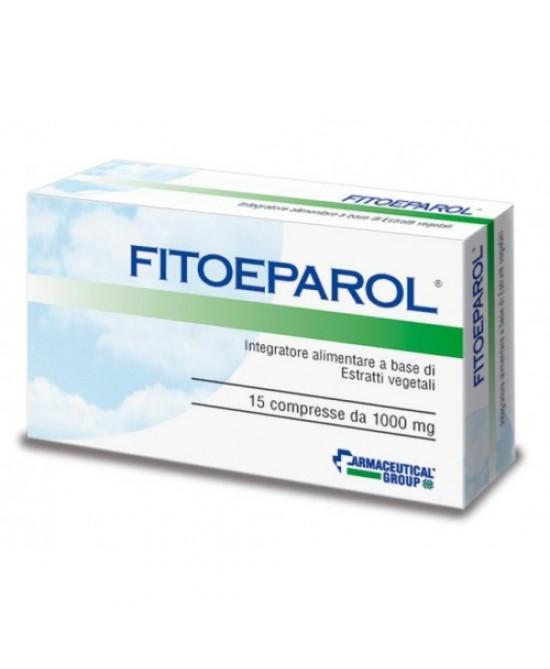 Fitoeparol Integratore Alimentare 15 Compresse - La tua farmacia online