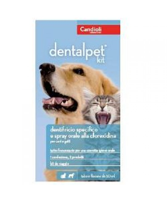 Dentalpet Kit 50ml+spr50ml+dit - FARMAEMPORIO