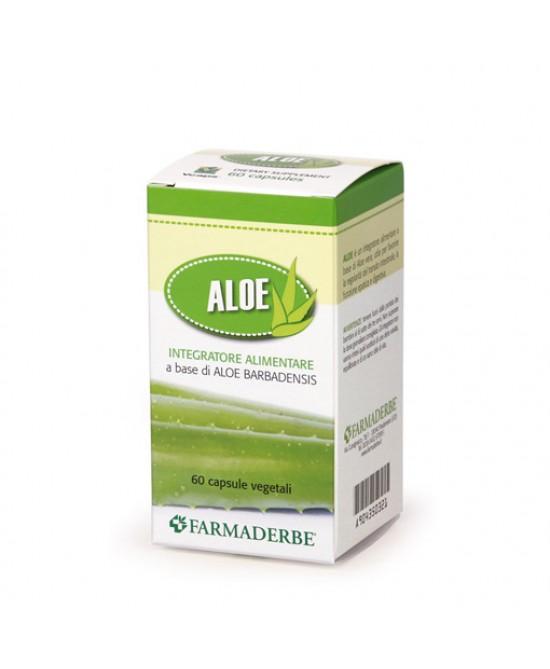 Aloe Vera 100% Integratore Alimentare 60 Capsule - FARMAEMPORIO