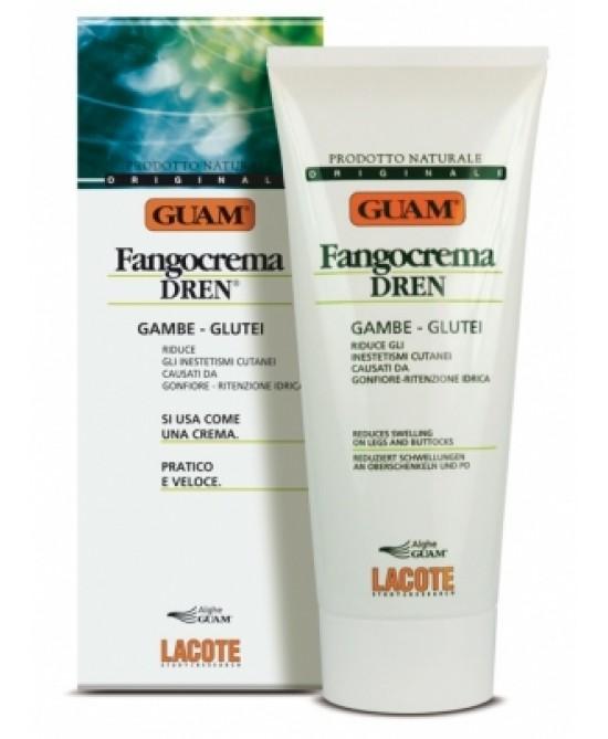 Guam Fango Crema Drenante Gambe e Glutei 200 ml - La tua farmacia online
