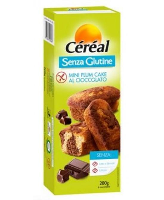 Céréal Mini Plum Cake Al Cioccolato Senza Glutine 200g - La tua farmacia online