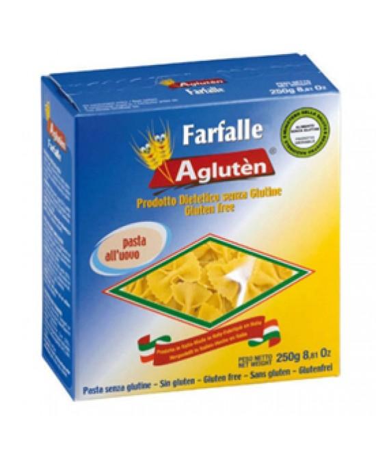 Agluten Farfalle All'Uovo Pasta Senza Glutine 250g - La tua farmacia online