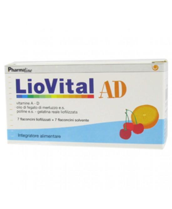 Liovital Ad 7fl 61,6g - Zfarmacia