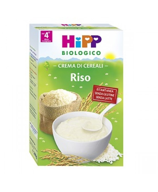 HiPP Biologico Creme Ai Cereali Riso 200g - FARMAEMPORIO