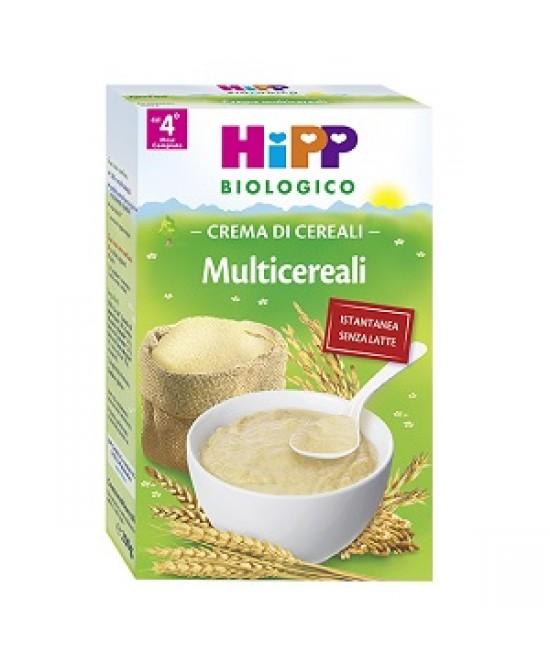 HiPP Biologico Creme Ai Cereali Multicereali  200g - FARMAEMPORIO