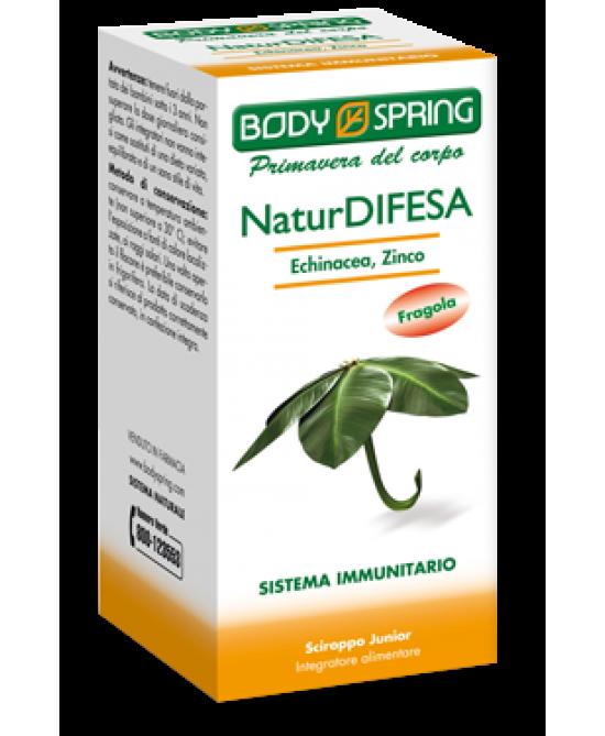 Body Spring NaturDifesa Echinacea Sciroppo Junior 100ml - Farmacia 33