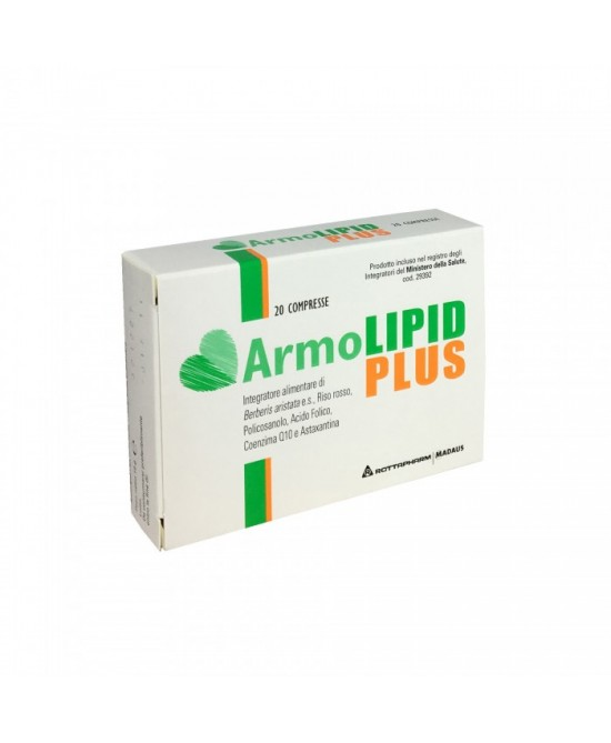 Rottapharm ArmoLipid Plus Integratore Alimentare 20 Compresse - Farmamille