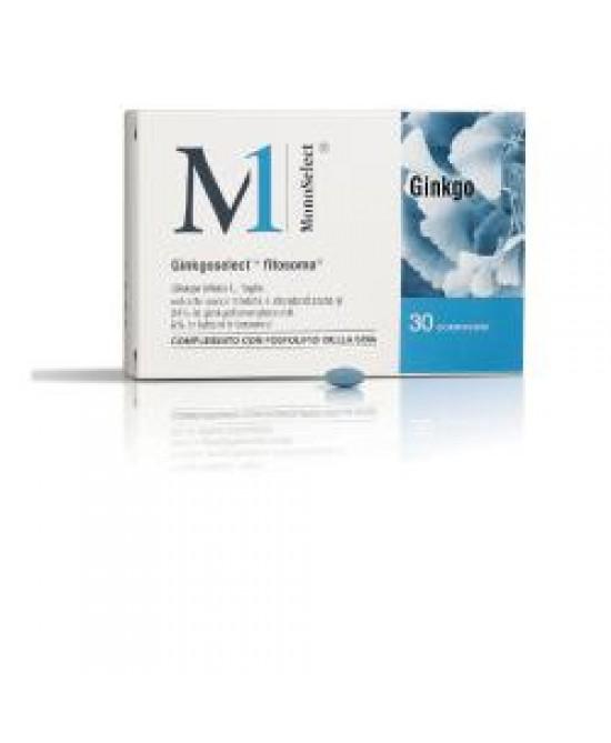 Monoselect Ginkgo 30cpr - Farmajoy