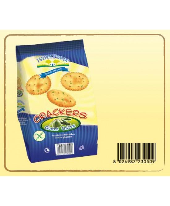 Happy Farm Crackers Alle Olive Senza Glutine 60g - Farmacia 33