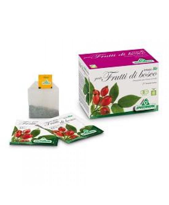 Specchiasol Tisana Bio Gusto Frutti di Bosco 20 Filtri - La tua farmacia online