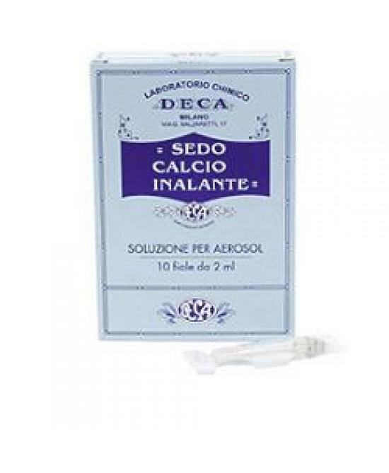 Sedocalcio Inalante 10 Fiale Da 2ml - Farmawing