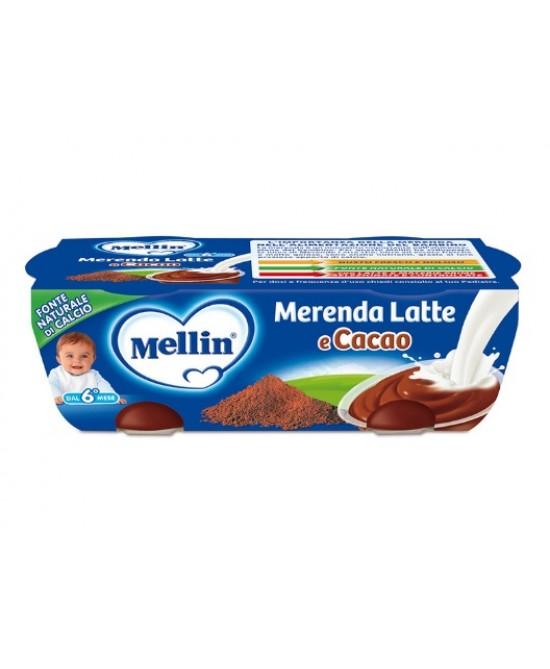 Mellin Merenda Latte E Cacao 2x130g - Farmacia 33