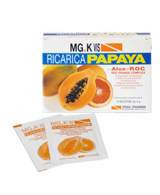 Mgk Vis Ric Papaya C/roc 12bus - Farmacento