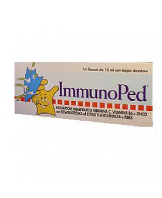 Immunoped 14fl 10ml - Farmacento