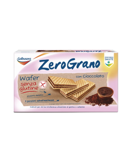 ZeroGrano Wafer Con Cioccolato Senza Glutine 180g - farma-store.it