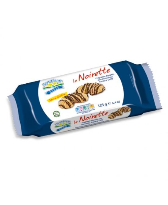 Happy Farm Le Noirette Con Cioccolato E Caffè Senza Glutine 125g - Farmacia 33
