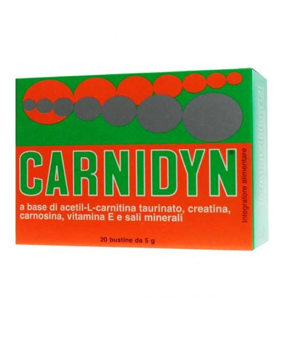 Carnidyn Integratore Alimentare 20 Bustine - La tua farmacia online