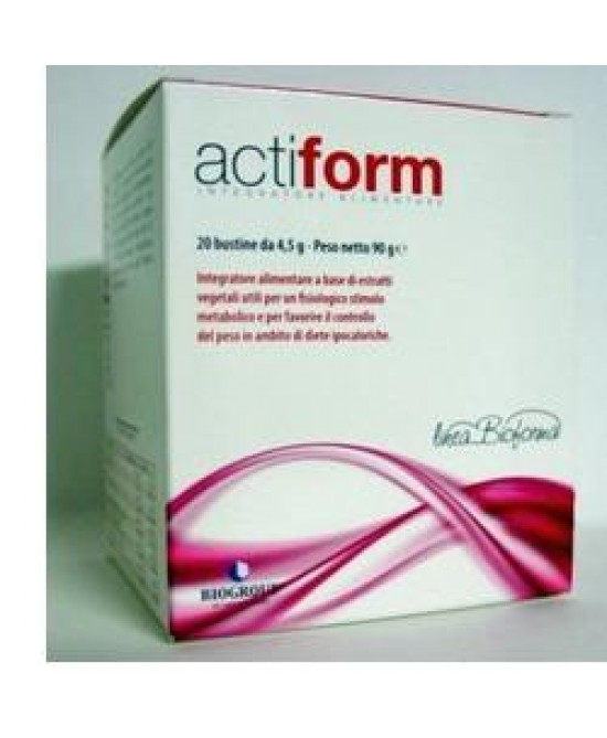 Actiform 20bust 4,5g - Farmastar.it