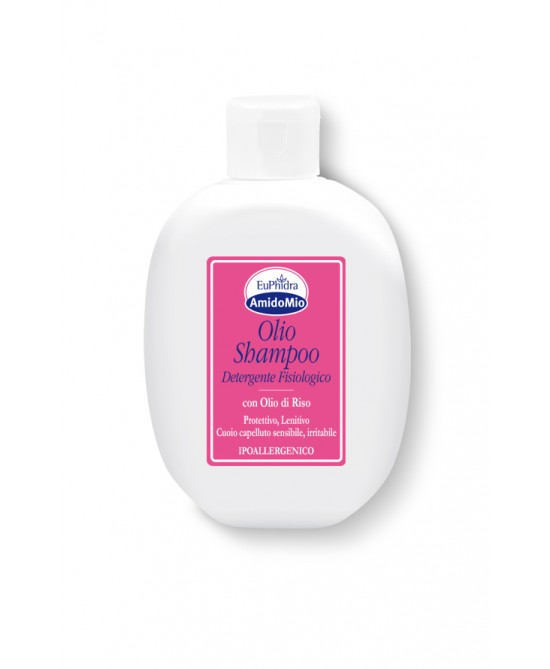 EuPhidra AmidoMio Olio Shampoo Detergente Fisiologico 200ml - Farmacento